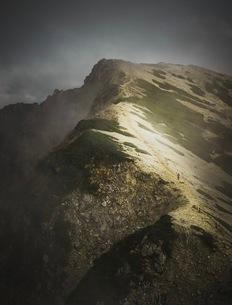 唐松岳 日本 富山県 黒部市の写真素材 [FYI03153088]
