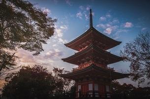 清水寺 日本 京都府 京都市の写真素材 [FYI03153096]