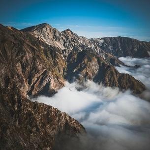 唐松岳 日本 富山県 黒部市の写真素材 [FYI03153098]