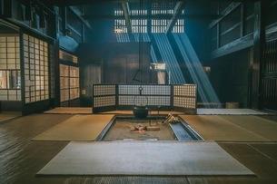 妻籠宿 日本 長野県 南木曽町の写真素材 [FYI03153106]