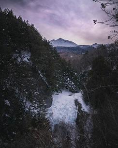 善五郎の滝 日本 長野県 松本市の写真素材 [FYI03153108]