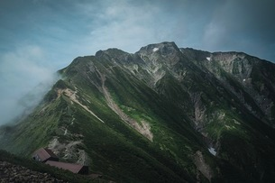 五竜岳 日本 富山県 黒部市の写真素材 [FYI03153112]