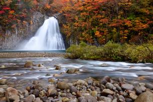 法体の滝 日本 秋田県 由利本荘市の写真素材 [FYI03153384]