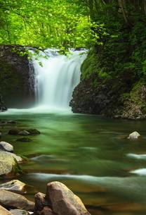 止滝(とまりだき) 日本 秋田県 鹿角市の写真素材 [FYI03153396]