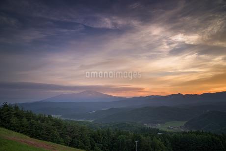 眺海の森 日本 山形県 酒田市の写真素材 [FYI03153472]