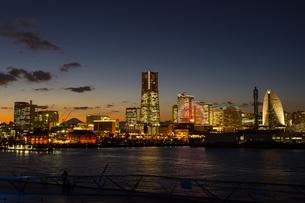横浜みなとみらい 日本 神奈川県 横浜市の写真素材 [FYI03153766]