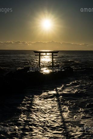 大洗磯前神社 日本 茨城県 東茨城郡の写真素材 [FYI03153771]