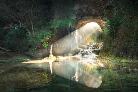 濃溝の滝 日本 千葉県 君津市の写真素材 [FYI03153882]