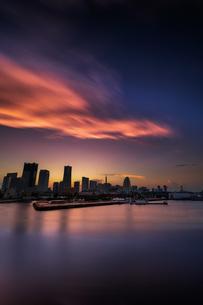 大さん橋 日本 神奈川県 横浜市の写真素材 [FYI03153901]