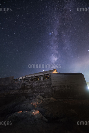 江見の漁師小屋 日本 千葉県 鴨川市の写真素材 [FYI03153902]