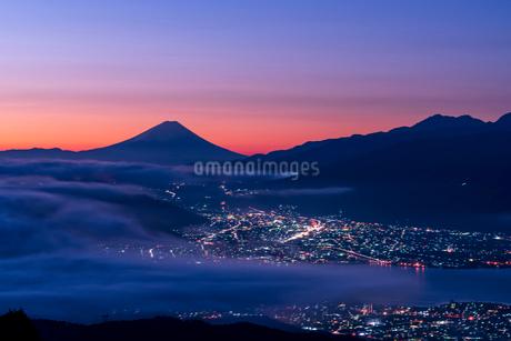 高ボッチ高原 日本 長野県 塩尻市の写真素材 [FYI03153919]