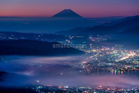 高ボッチ高原 日本 長野県 塩尻市の写真素材 [FYI03153920]