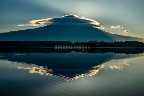田貫湖 日本 静岡県 富士宮市の写真素材 [FYI03153987]