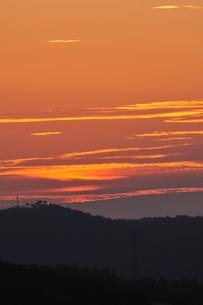 夕日の写真素材 [FYI03154687]