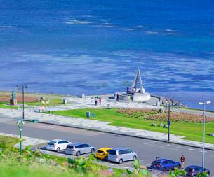 北海道 自然 風景 宗谷岬 の写真素材 [FYI03154812]