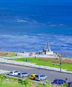 北海道 自然 風景 宗谷岬 の写真素材 [FYI03154813]
