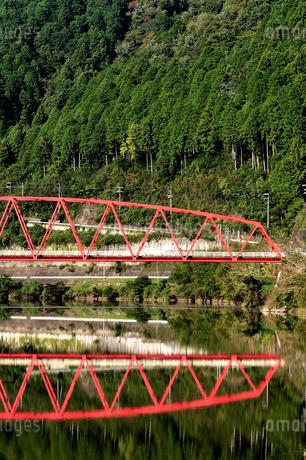 赤い橋の写真素材 [FYI03154869]