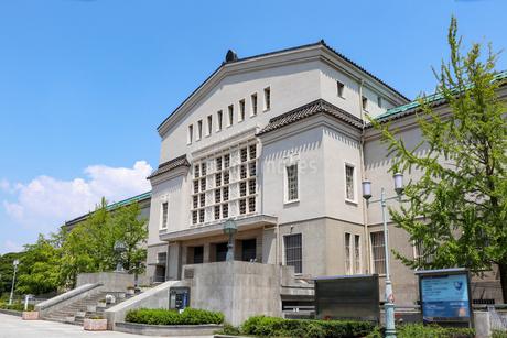 天王寺公園・大阪市立美術館の写真素材 [FYI03155341]