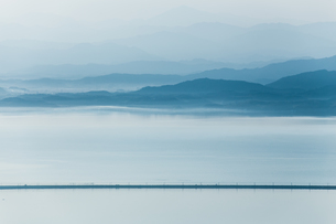 枕木山 日本 島根県 松江市の写真素材 [FYI03155398]