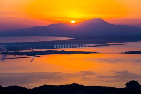 枕木山 日本 島根県 松江市の写真素材 [FYI03155399]