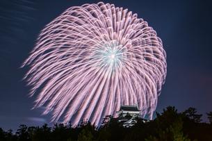 花火 日本 島根県 松江市の写真素材 [FYI03155418]
