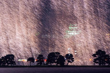 松江水郷祭花火大会 日本 島根県 松江市の写真素材 [FYI03155420]