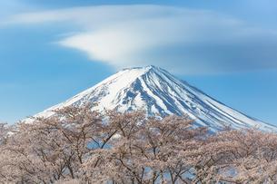 河口湖 山梨県 富士河口湖町の写真素材 [FYI03155461]