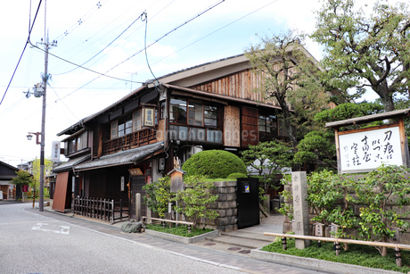 京都伏見・寺田屋の写真素材 [FYI03155483]