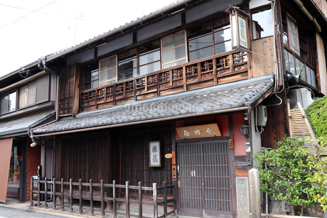 京都伏見・寺田屋の写真素材 [FYI03155484]