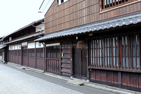 京都・伏見桃山の町並みの写真素材 [FYI03155491]