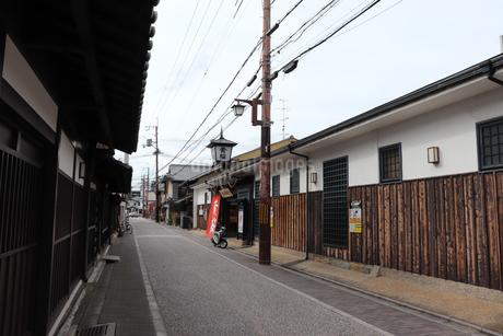 京都・伏見桃山の町並みの写真素材 [FYI03155495]