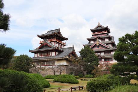 京都・伏見桃山城の写真素材 [FYI03155498]