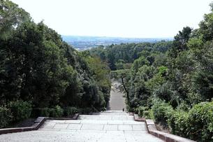 京都・桃山御陵の眺望の写真素材 [FYI03155509]