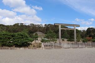 京都・伏見天皇陵の写真素材 [FYI03155511]