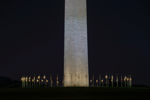 ワシントン記念塔のイメージの写真素材 [FYI03155769]