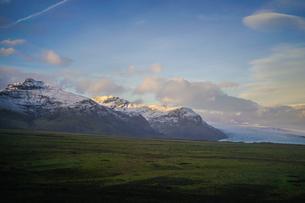 アイスランド・ヴァトナヨークトル氷山の写真素材 [FYI03155772]