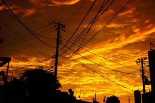 夕景イメージの写真素材 [FYI03155786]