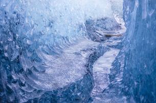 アイスランド・氷の洞窟(ヴァトナヨークトル)の写真素材 [FYI03155814]