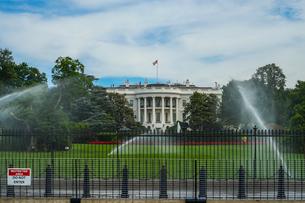 ホワイトハウス(ワシントンDC)の写真素材 [FYI03155891]