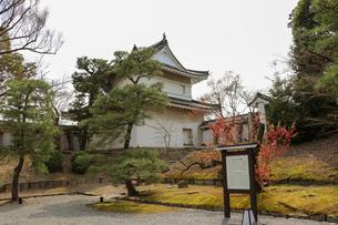 お城の隅櫓の写真素材 [FYI03156121]