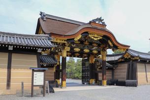 京都二条城・二の丸の唐門の写真素材 [FYI03156124]