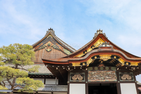 京都・二条城の二の丸御殿の写真素材 [FYI03156126]