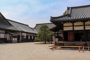 京都・二条城に残る御殿の写真素材 [FYI03156128]