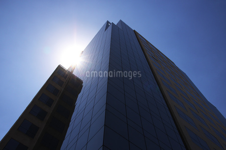 サンパウロのガラス張りのオフィスビルの写真素材 [FYI03156130]