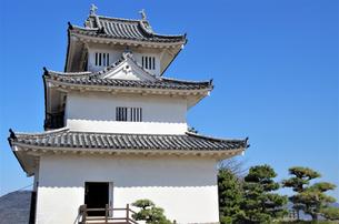 現存12天守・丸亀城天守閣の写真素材 [FYI03156332]