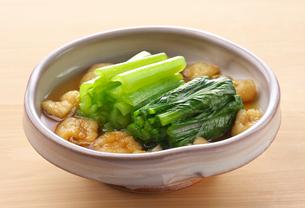 小松菜の煮物の写真素材 [FYI03156389]