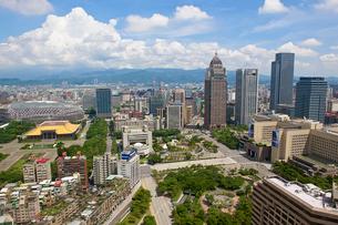 台北市内の風景の写真素材 [FYI03156671]