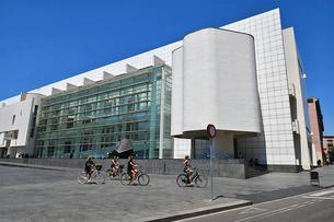 バルセロナ現代美術館の写真素材 [FYI03156717]