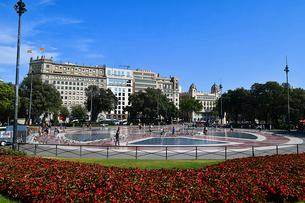 カタルーニャ広場の写真素材 [FYI03156759]