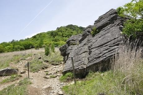 乾徳山の扇平の高原の写真素材 [FYI03157256]